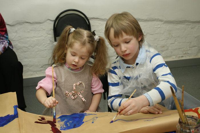 Фотоотчет с презентации детской художественной мастерской